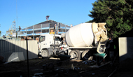 Liquid Limestone Is Delivered By Truck